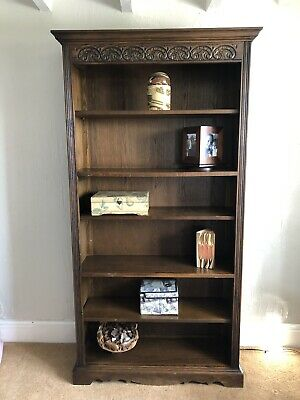 Antique Old Charm Bookcase
