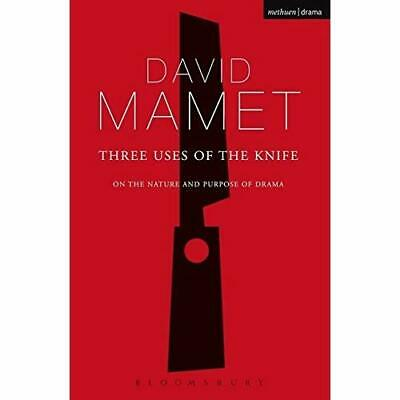 Three Uses of the Knife (Diaries, Letters and Essays):  - Paperback NEW Mamet, D