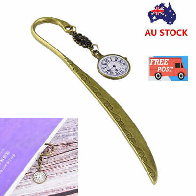 Retro Vintage Metal Alloy Bronze Bookmark Document Book Mark Label Diy For Gift