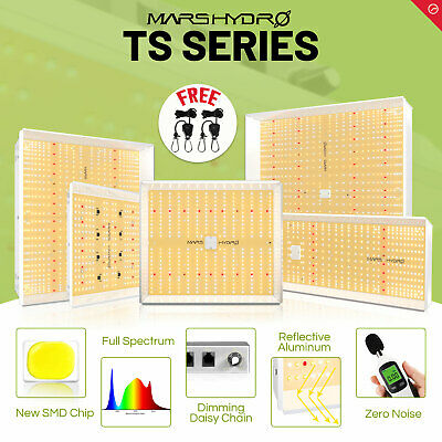 Mars Hydro TS 1000W 2000W LED Grow Light Full Spectrum Indoor  Plant Hydroponics