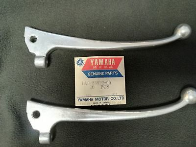 2 . NOS  Yamaha RD250 RD400 Front Brake Lever GENUINE 1A0-83922-00 C and D model