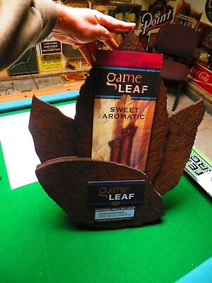 Game Leaf Sweet Aromatic Natural Rolled Leaf Cigar Advertise Store Display Sign