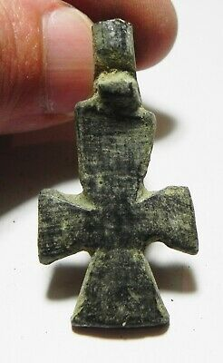 Zurqieh - As11691- Large Ancient Byzantine Bronze Cross. 600 A.d - Jordan