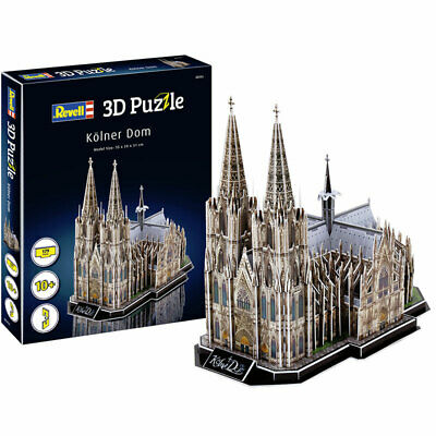 REVELL Cologne Cathedral 3D Puzzle Model Kit 00203