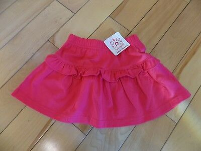 Infant Baby Girls Hanna Andersson Size 80 18-24 Mos Pink Cotton Skirt New