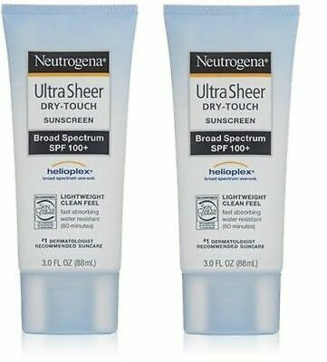 1e2eaa97a 2PK NEUTROGENA ULTRA Sheer Dry-Touch Sunscreen SPF 100+ -  27.87 ...