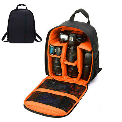 Waterproof Camera Bag Backpack Cover Rucksack Case For DSLR SLR Canon Nikon Sony