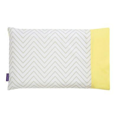 ClevaMama Replacement Toddler Pillow Case Cover (Grey) - Fits ClevaFoam Toddler