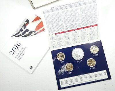 2016 U.S. Mint Annual Uncirculated Dollar Coin Set