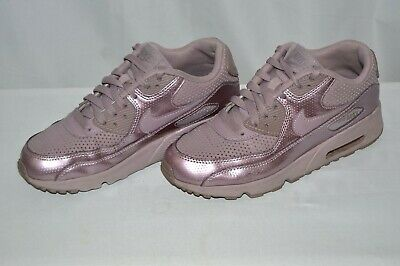 63f9238b25814 NIKE AIR Max 90 SE Ltr (GS) Running Shoes Size 7Y 859633-003 Women ...