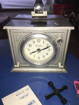 A National Time Recorder Co Ltd Clock ++St Marys Cray Kent ++