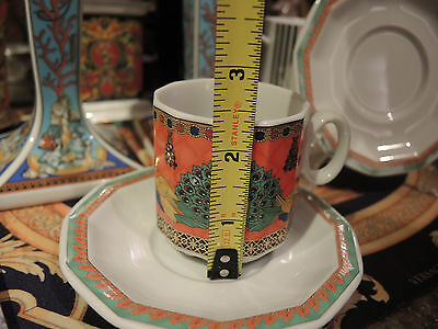 Versace Marco Polo Cup Saucer ESPRESSO Set Rosenthal retired new sale