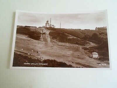 CROMER, Happy Valley + Lighthouse, G.7410 Vintage RPPC Real Photo Postcard §E481