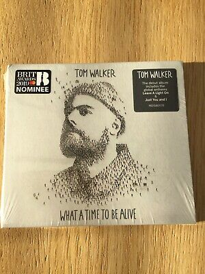 tom walker cd     what a time to be alive    new and sealed