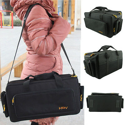 Camcorder Bag Shoulder Padded Handbag For Panasonic Sony HDV AX 190P 198P 2100E