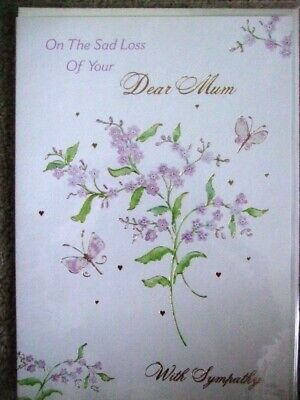 "Write From The Heart ""on The Sad Loss Of Your Dear Mum"" Sympathy Card"