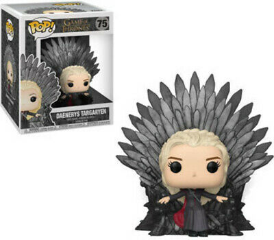 FUNKO POP! DELUXE: Game of Thrones - Daenerys Sitting on Throne [New Toys] Vin