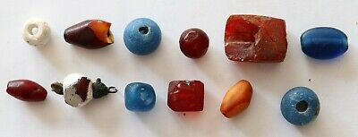 Group Of Ancient Viking  Glass Beads