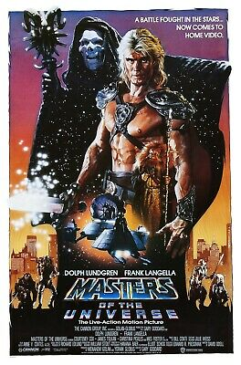 Masters Of The Universe movie poster (b) - Dolph Lundgren poster
