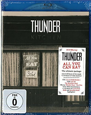 Thunder-All You Can Eat - Bluray + Cd Blu-Ray NEW