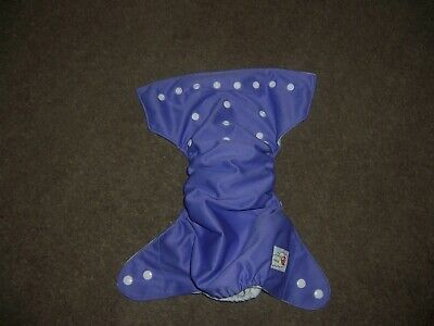Happy Flute pocket one size cloth diaper purple new