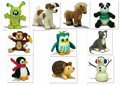 Dimensions Needle Felting Kit  Needlefelting Craft Needle Felt  - Big Choice.