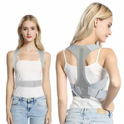 Posture Clavicle Support Corrector Back Straight Shoulders Brace Strap Correct A