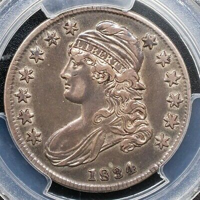 1834 Capped Bust Half Dollar Overton O-110 - PCGS XF45- Sm. Date Sm. Letters