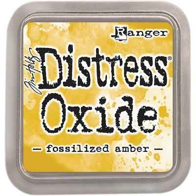 Tim Holtz Distress Oxide Ink Pad - Fossilized Amber - Yellow