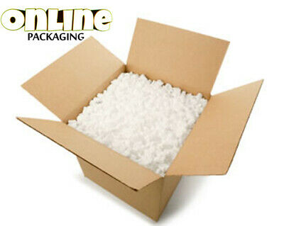1 Cubic Feet(Ft) Eco Flo Biodegradable Loose Fill Packaging Peanuts Boxed