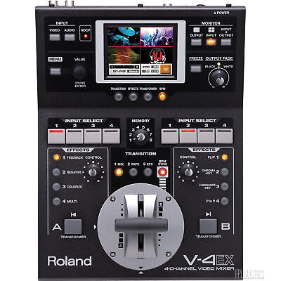 Roland V-4EX 4-Channel Video Switcher / Mixer with Effects V-4 EX V4EX