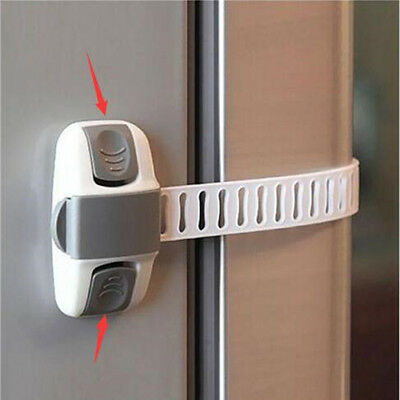 Latch Baby Safety Child Lock Appliance Adjustable Fridge Guard Refrigerator Door