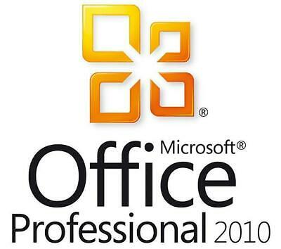 Microsoft Office Professional Plus 2010 - W/scrap, 100% Genuine, Lifetime Key