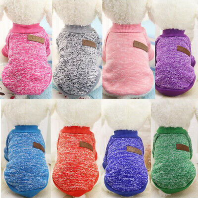 Yorkie toy small dog pet fleece clothes coat jacket sweater soft warm UK