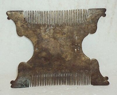 Brass COMB 1940's Antique Indian Rare Collectible  WH#2
