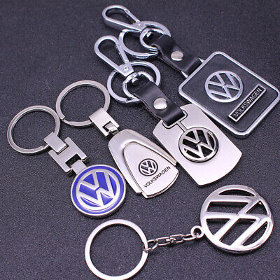Auto Car Logo Metal Key Chains Pendant Holder Keyring Keychain for VW Models