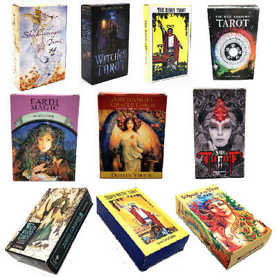 Witches Tarot Deck Сard Rider-waite Smith English Version Game Cards AU STOCK