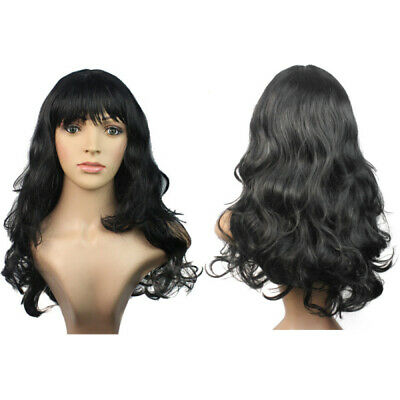 Charming Women Girls Cosplay Party Synthetic Curly Long Hair Full Wig