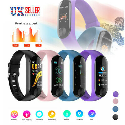 Fitness Smart Watch Activity Tracker Women Kids Fit bit Android iOS Heart Rate