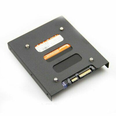 """2.5"""" To 3.5"""" SSD HDD Metal Adapter Rack Hard Drive SSD Mounting Bracket DS"""