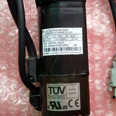1PC Used Yaskawa SGMAH-01AAA61D-OY Tested In Good Condition
