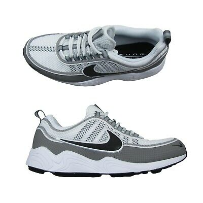 best website 9025f b0e77 Nike Air Zoom Spiridon SP White Ash Gray Size 10.5 Mens Shoes 849776 101 New