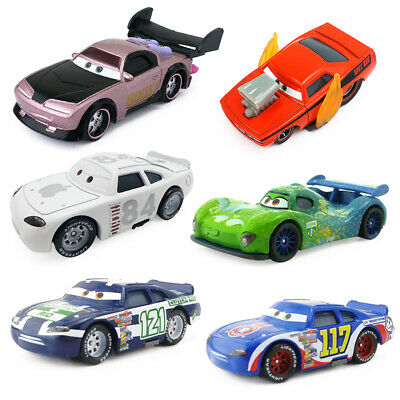 Disney Pixar Cars 2 3 Snot Rod & DJ & Boost & Wingo Metal Diecast Toy Car 1:55