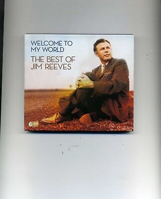 Jim Reeves - Welcome To My World : The Best Of - 2 Cds - New!!