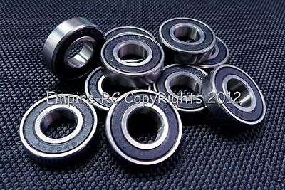 (10 PCS) 6900-2RS (10x22x6 mm) Rubber Sealed PRECISION Ball Bearing (BLACK)