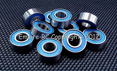 (10 PCS) 686-2RS (6x13x5 mm) Rubber Sealed PRECISION Ball Bearings (BLUE) 6 13 5