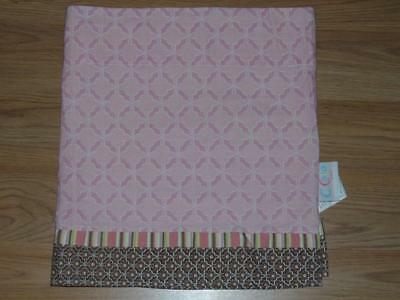 "Cocalo Up & Away Valance Pink & Brown 53"" X 15"""