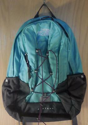 """THE NORTH FACE Jester II Hiking Day Pack Backpack 19"""" Green"""