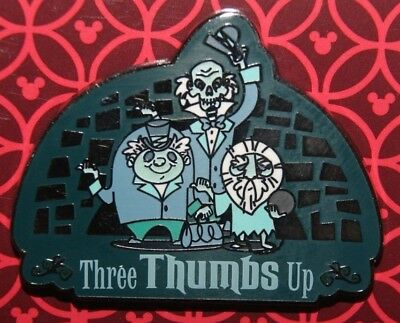 Disney Parks 2018 Haunted Mansion Hitchhiking Ghosts Three Thumbs Up Pin