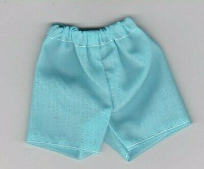 Homemade Doll Clothes-Print Short With Elastic Waist fit Ken Doll SS23